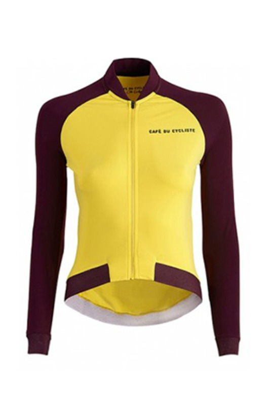 [Cafe du Cycliste] 카페 뒤 사이클리스트 Women's 다프네 Daphne Colour Jersey - Yellow