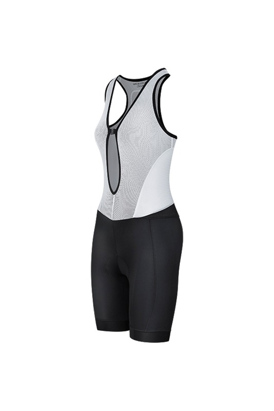 [Cafe Du Cycliste] women's odile bib shorts black 오딜 빕 쇼트 블랙