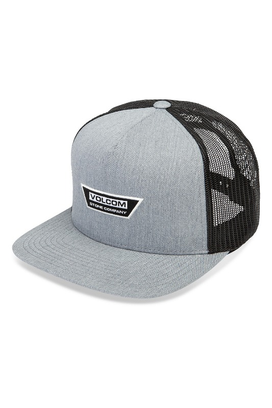 [VOLCOM] Men's  TRAPEZOID CHEESE HAT- Gray