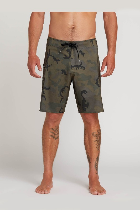 [VOLCOM] Men's LIDO SOLID MOD BOARDSHORTS - Camouflage
