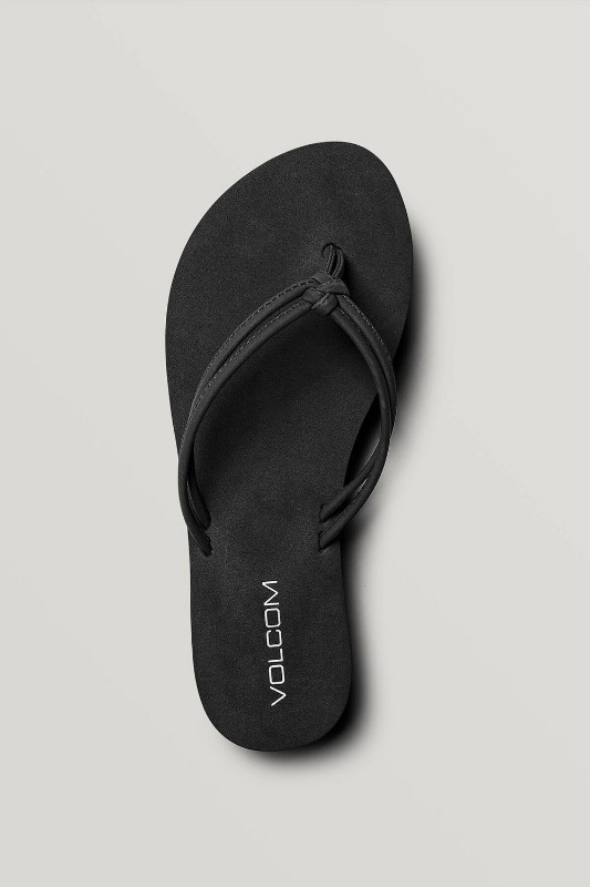 [VOLCOM] WOMEN's FOREVER AND EVER SANDALS - Black