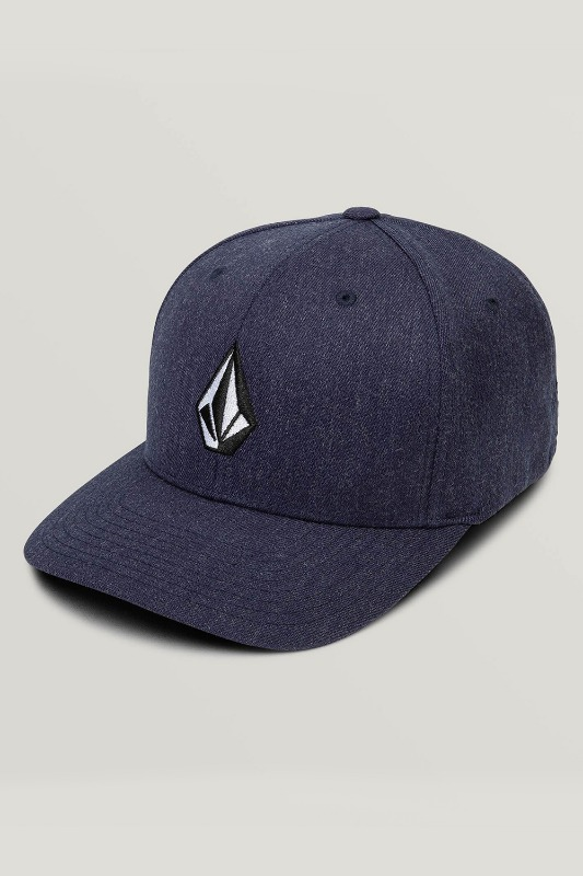 [VOLCOM] FULL STONE XFIT HAT - Navy Heather