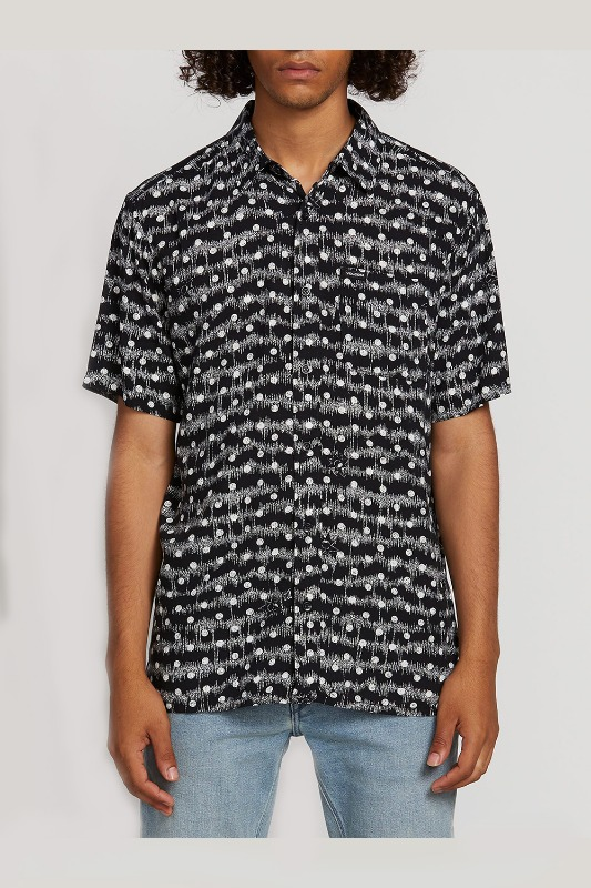[VOLCOM] Men's MAG SKTCH S/S  - Black