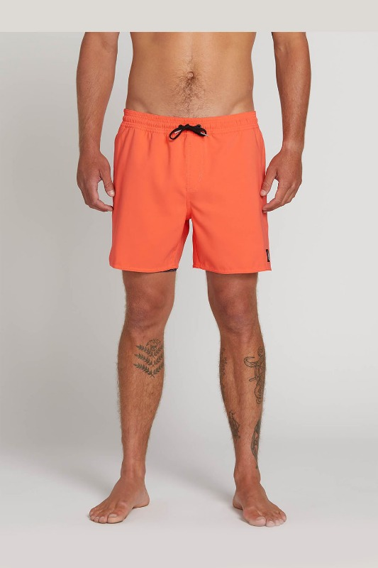 [VOLCOM] Men's LIDO VOLLEYS   - Elecrtic Coral