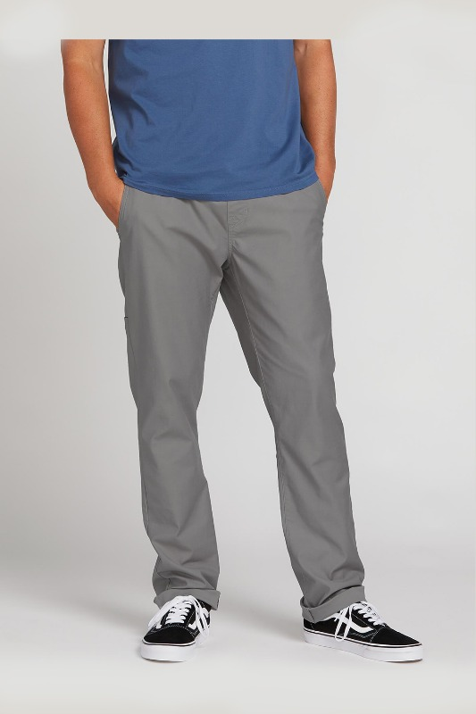 [VOLCOM] Men's RISER COMFORT CHINO PANTS  - Aircraft Grey