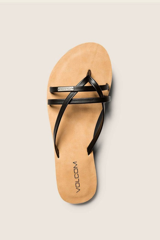 [VOLCOM] WOMEN's LOOKOUT 2 SANDALS - Black