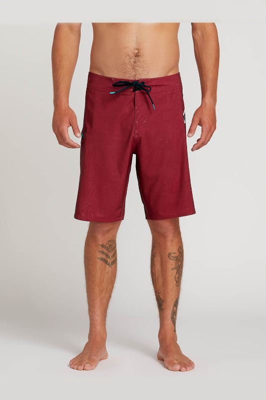 [VOLCOM] Men's DEADLY STONES  BOARDSHORTS - Burgundy