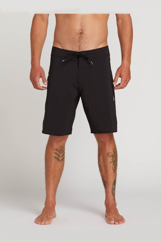[VOLCOM] Men's LIDO SOLID MOD BOARDSHORTS - Black