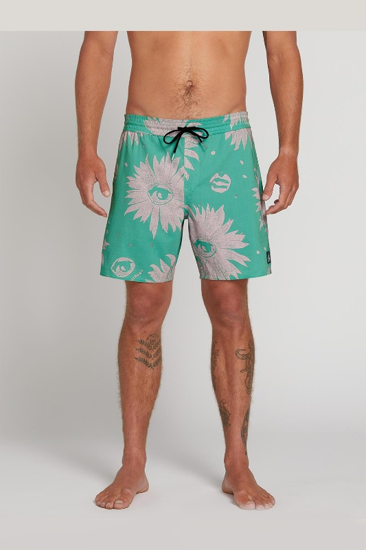 [VOLCOM] Men's REMOTE TRUNKS  - WINTER GREEN