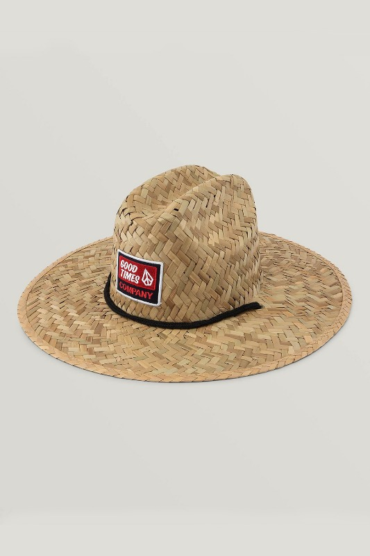 [VOLCOM] Men's SUNBRELLO HAT - Natural