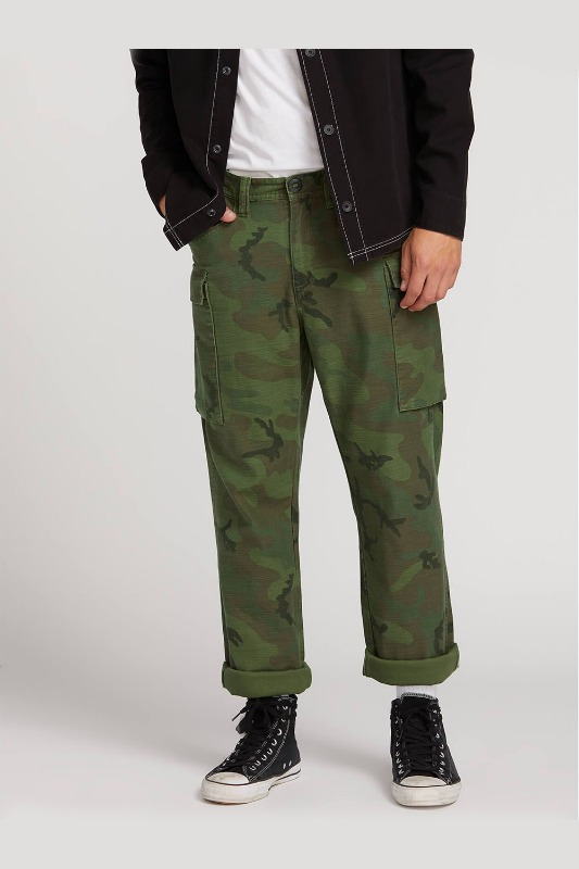 [VOLCOM] Men's GRITTER CARGO PANTS - Camouflage