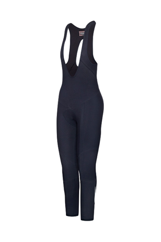 [Cafe Du Cycliste] women's Marie Winter Bibtights - Navy 마리 윈터 빕타이즈 네이비